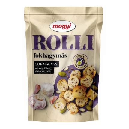 Сухарики пшеничные Mogyi Rolli с чесноком 90 г