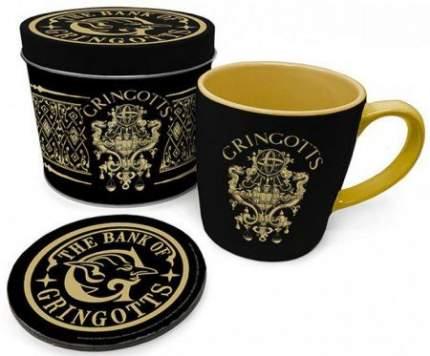Подарочный набор Harry Potter-The Bank of Gringotts (кружка/подставка под напитки/банка)