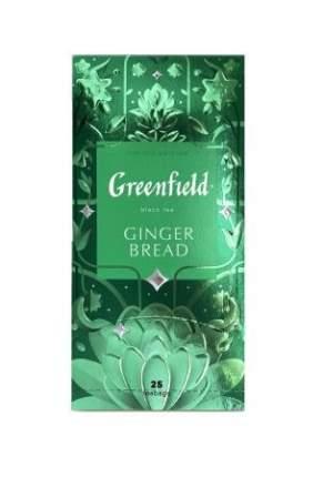 Чай черный Greenfield Ginger Bread 25 пакетиков