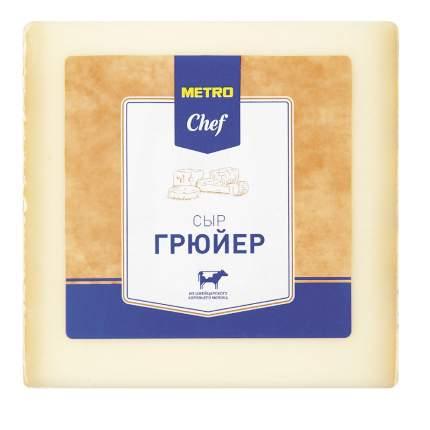 Сыр твердый Metro Chef Грюйер 50% ~400 г