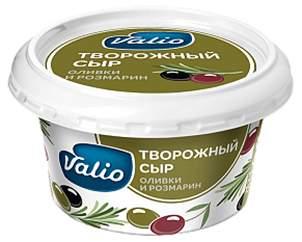 Творожный сыр Valio c оливками и розмарином 68% 150 г