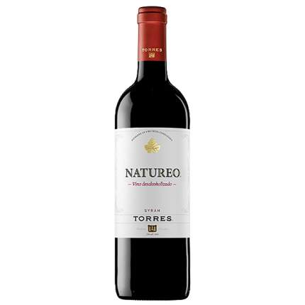 Б/АЛК Вино Натурео Сира кр.п/сл.0,75