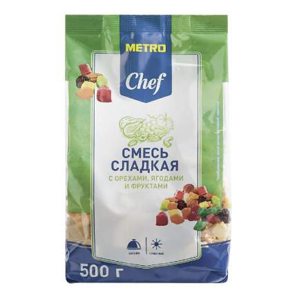 Фруктово-ореховая смесь Metro Chef 500 г