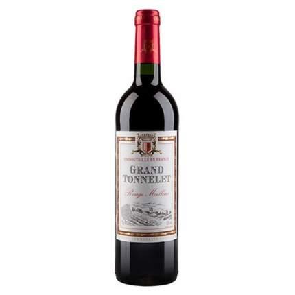 Вино Гранд Тоннелет кр.п/сл.0,75