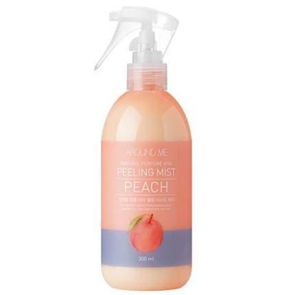 Пилинг-мист для тела Welcos Around me Natural Perfume Vita Peeling Mist Peach (300 мл)