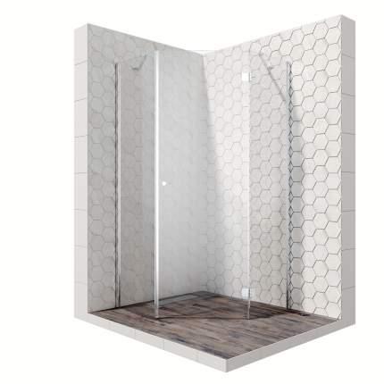 Душевой уголок Ambassador Diamond 12011111R, пятиугольный, 90х90 см