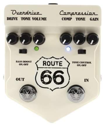 Педаль эффектов Visual Sound V2RT66 V2 Route 66, компрессор