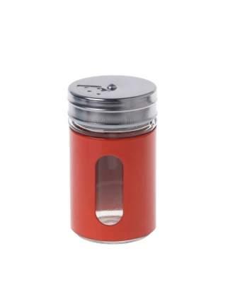 Баночка для специй с тремя видами отверстий (Цвет: Красный )
