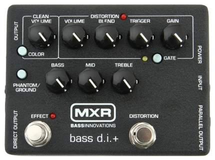 Педаль эффектов для бас-гитары Dunlop MXR M80 Bass D.I.