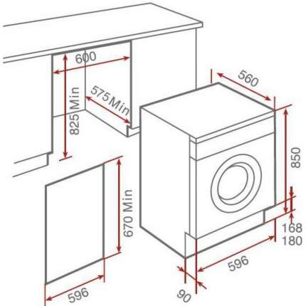 Встраиваемая стиральная машина Teka LI4 1470