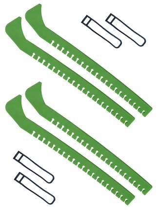 Набор зимний: Чехлы для коньков зеленые - 2 шт.