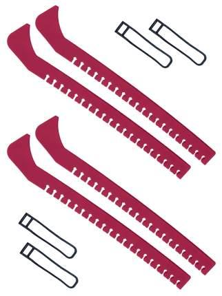 Набор зимний: Чехлы для коньков красные - 2 шт.
