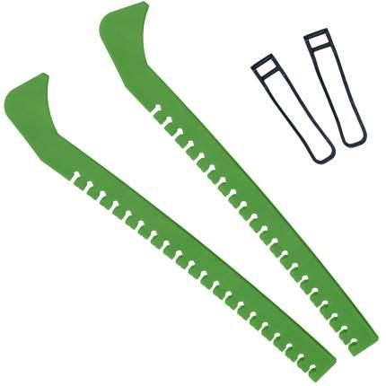 Чехлы для коньков зеленые