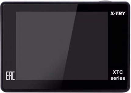 Видеокамера экшн X-TRY XTC167 NEO BATTERY + СЗУ 4K WiFi