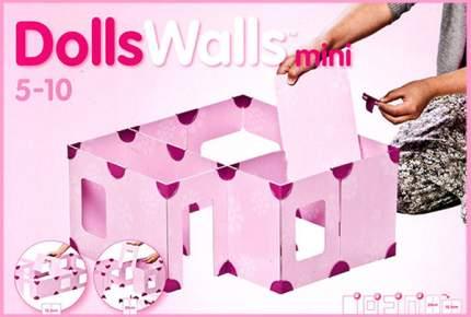Кукольный домик DollsWalls Mini48