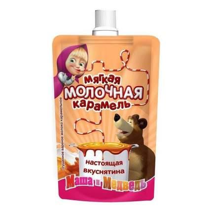 Сгущенное вареное молоко Маша и Медведь мягкая молочная карамель с сахаром 8,5 % 100 г