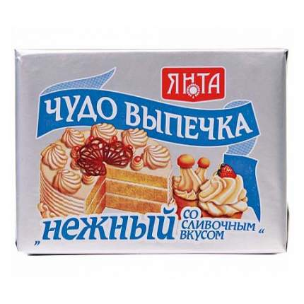 Маргарин Янта Чудо-выпечка Нежный со сливочным вкусом 75% 250 г