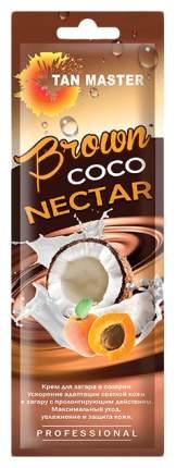 Крем для загара в солярии Tan Master Brown Coco Nectar 15 мл