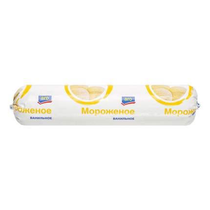 Мороженое Aro с заменителем молочного жира ваниль 1 кг