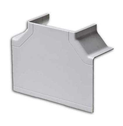 Тройник накладной 90° 100х60/100х40 белый Рувинил