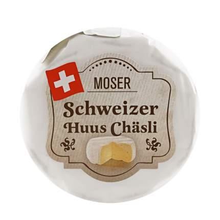 Сыр мягкий Moser Хуус Часли 55% 125 г бзмж