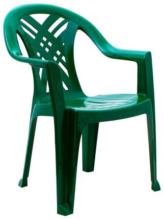 Стул для дачи Стандарт Пластик Престиж 2 110-0034 dark green 66х60х84 см
