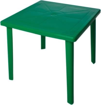 Стол для дачи Стандарт Пластик green 80x80x71 см