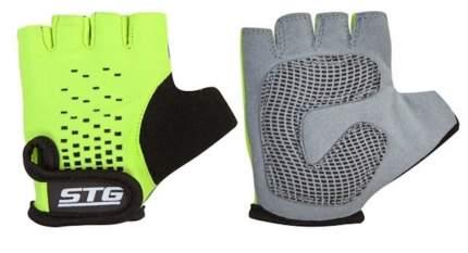 Велоперчатки STG AL-03-511, green/black, XS