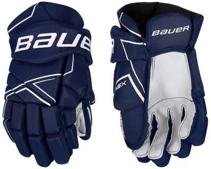 Перчатки хоккейные BAUER NSX S18 JR подростковые(11 / темно-синий/11)