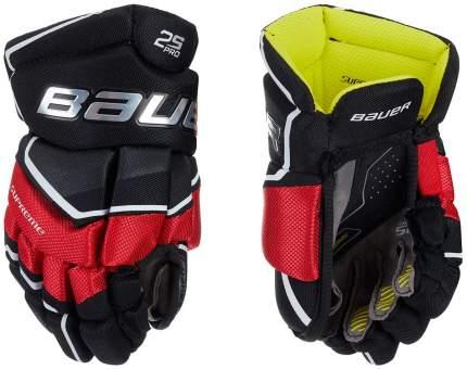 Перчатки хоккейные BAUER Supreme 2S Pro S19 YTH детские(8 / черно-красные/8)