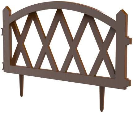 Заборчик декоративный Штакетник L-300см (5 секций 60×37см)