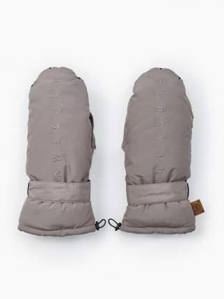 Муфты-варежки на коляску Happy Baby, цвет linen grey 89023