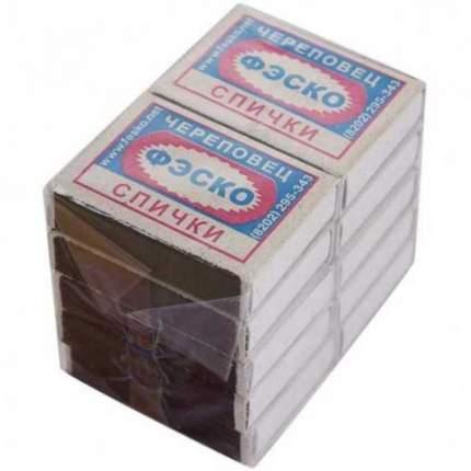 Спички бытовые Феникс 101-047 37 шт в упаковке
