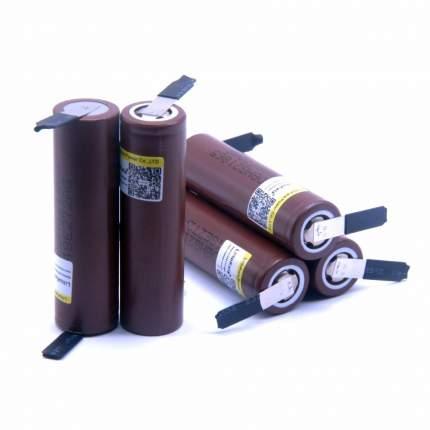 Аккумулятор LiitoKala HG2 18650 Li-ion 3.7В 3000mAh незащищенный с выводами 5 шт