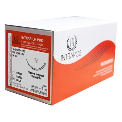 Синтетические рассасывающиеся нити Intrarich ПОЛИДИОКСАНОН 3D-0,9x30-(0)-PD0-(2-90)