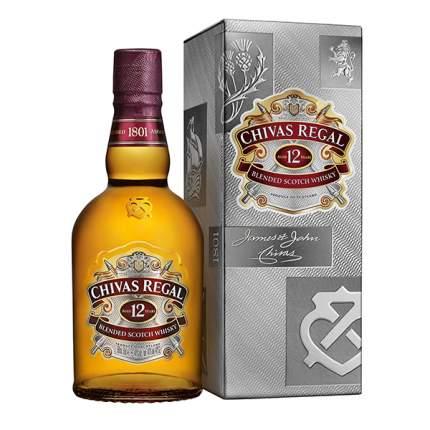 Виски Чивас Ригал 12 л 40% 0,5 п/у