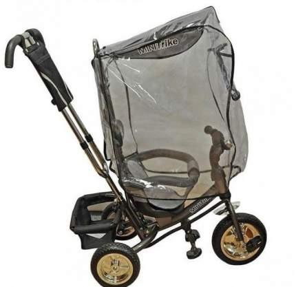 Дождевик для велосипеда Baby Care Trike Cover с прямым капором, прозрачный