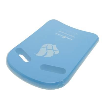 Доска для плавания Kickboard Cross, 38x27 см, цвет голубой Mad Wave
