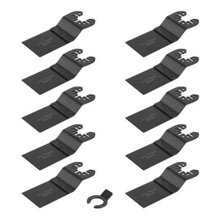 Набор пильных насадок для реноватора DEKO DKBS10-1 (10 насадок)