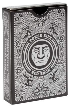 Игральные карты Golem red poker size index standard 54 штуки