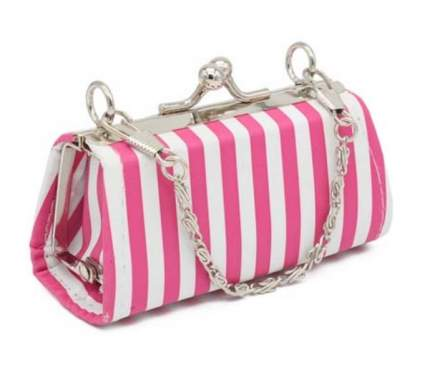 Сумочка для кукол полосатая, цвет: розовый, арт. 3AS-102