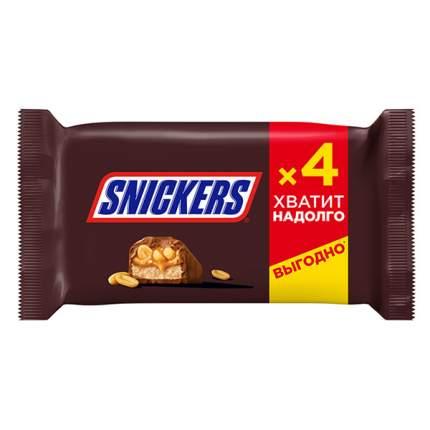 Шоколадный батончик Snickers  40 г x 4 шт