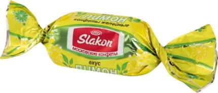 Конфеты желейные со вкусом лимона Slakon 1 кг