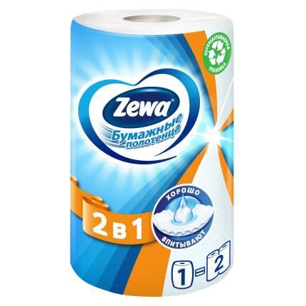 Бумажные полотенца Zewa 2в1 1 рулон