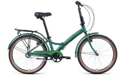 Велосипед Forward Enigma 24 3.0 2021 One Size teal/limegreen