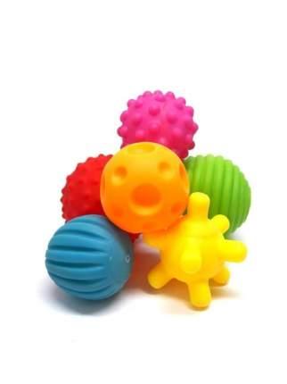 Развивающие тактильные мячики Bath Fun, 6 шт