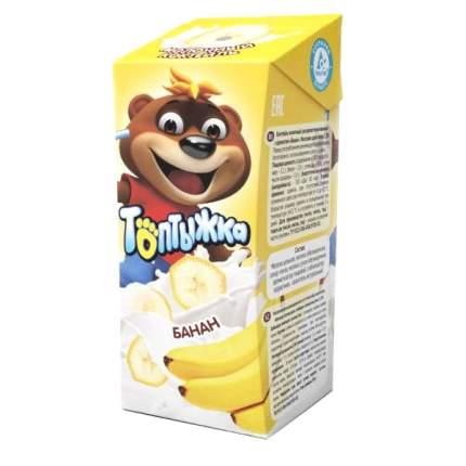 Коктейль молочный Топтыжка ультрапастеризованный Банан 3,2% 200 г бзмж