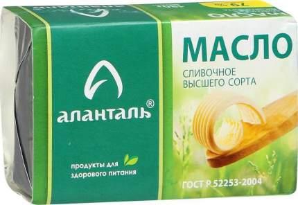 Сливочное масло Аланталь 79 % 180 г бзмж