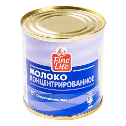 Концентрированное молоко Fine Life стерилизованное 8,5 % 310 г бзмж