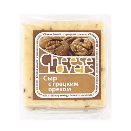Сыр полутвердый Cheese Lovers с грецким орехом 50% 220 г бзмж
